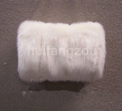 Faux Fur Wedding Cloak Gloves Warm Bridal Hand Warming Muff White Ivory Winter