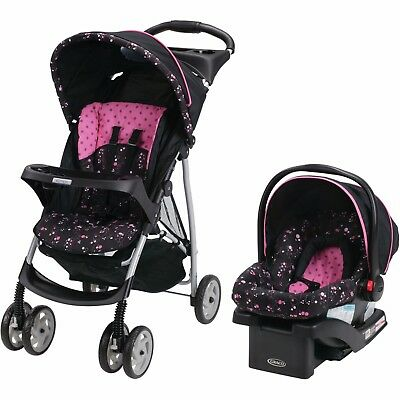 Luxury Stroller + Performance Coupe Car Seat Onyx Travel System