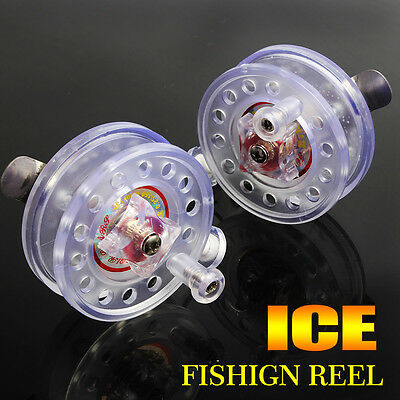 Plastic Ice Fishing Reel Portable for Children Gifts Centrepin Fishing Reels 1pc