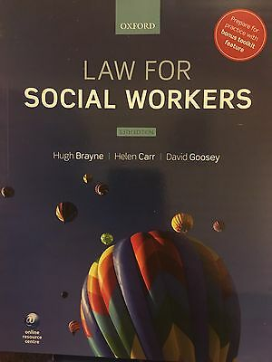 Oxford Law For Social Workers 13th Edition Away Until 25.10