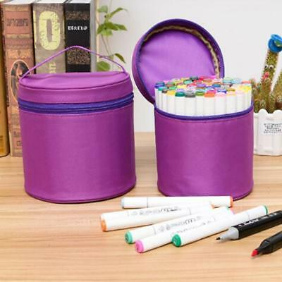 Marker Pen Bag Storage Case Organizer For 80 60 40 Colored Art Markers NEW - FI
