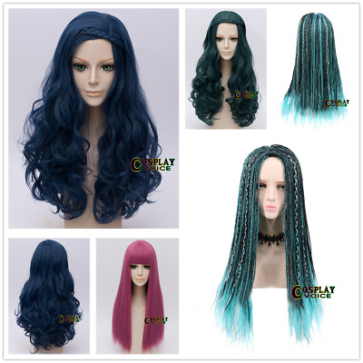 Descendants 2 Uma/Evie/Mal Halloween Cosplay Wig Synthetic Fashion Costume Wigs