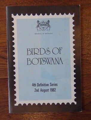 Botswana 1982 Birds Booklet includes MNH set and First Day Cover