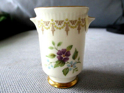 Vintage Minton Founded 1793 Marked bone china  toothpick / small vase 5.5cm H