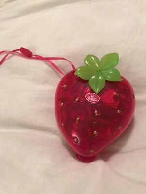 POLLY POCKET Pink Strawberry Heart House
