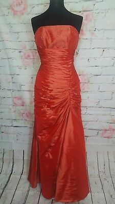 Vintage Scarlet Colour Strapless Maxi Dress by Special Day