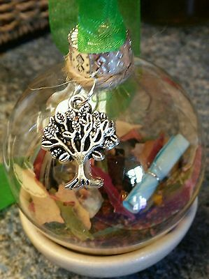 Good Luck Spell Orb/ Money Spell Witches ball/ good luck spell/ Witches Ball