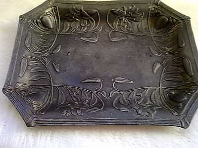 Art Nouveau Japan Metal tray