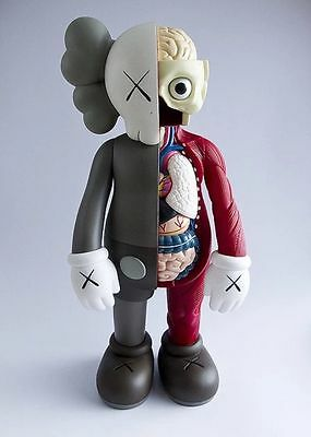 Kaws Original Fake Dissected Red Companion Replica Figure 37cm