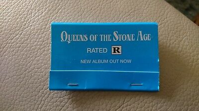 Queens of the Stone Age Rated R Match Book Rare unused