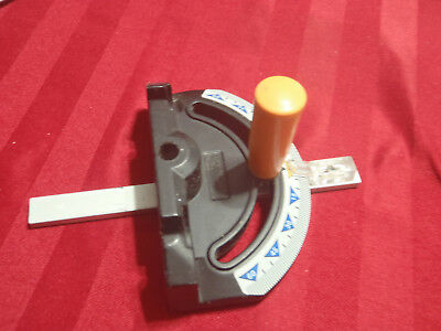 table or band-saw miter gauge