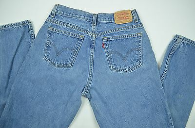 Levi's 550 Relaxed Fit Taperded Legs Denim Jeans 12M Actual 31X32