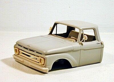 1/25 Ford F100 Pick-up 1962 Resin cab conversion for AMT kit limited edition #60