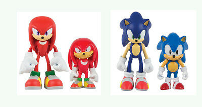 Tomy Sonic the Hedgehog two figure & Comic Set - Knuckles or Sonic NEW