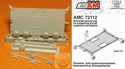 "1/72. Universal airfield cart resin set, by ""Advanced Modeling"" AMC72112."