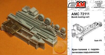 "1/72. Bomb loading airfield cart resin set, by ""Advanced Modeling"" AMC72111"