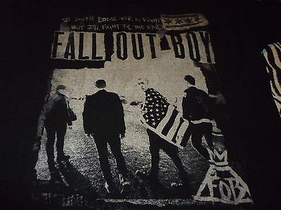 Fall Out Boy Tour Shirt ( Used Size L ) Good Condition!!!