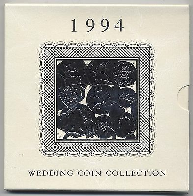 1994 Royal Mint Wedding Coin Collection***Collectors***
