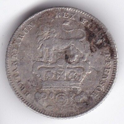 1829 George IV Sixpence***Collectors***Collectors***