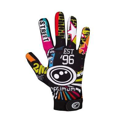 Optimum Velocity Thermal Rugby Gloves Full Finger Hand Protection- Street II