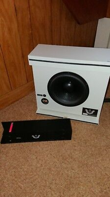 Artcoustic panel sub micro subwoofer with the pa-260 amplifier