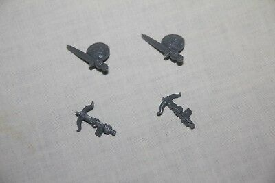 HeroQuest Barbarian Quest Pack - Waffen / weapons - (MB & Games Workshop 1992)