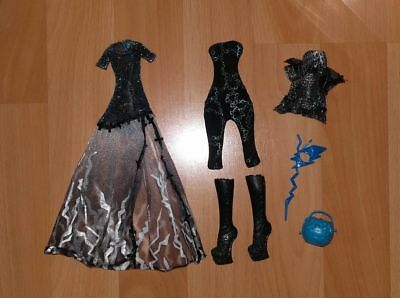 Tenue et accessoires MONSTER HIGH poupée Frankie Stein collection Halloween