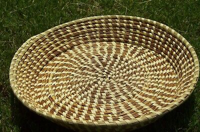 Sweetgrass Gullah Fanner Basket
