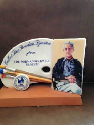 Norman Rockwell Porcelain Store Display--Ultra Rare Figurine