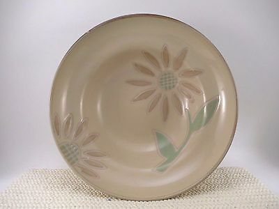 """Set of 3 Cuisinart 8 1/2"""" Soup Cereal Salad Bowis SUNFLOWER VGUC Stoneware China"""