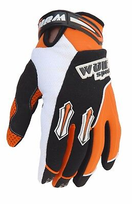 Wulf Sport Enduro Motocross Quad Handschuhe Kids Kinder Stratos Gloves orange