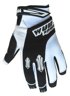 Wulf Sport Enduro Motocross Quad Handschuhe Kids Kinder Stratos Gloves weiss