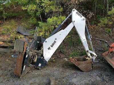 Bobcat 8811 Backhoe Attachment Used Once Mounting Kit Included