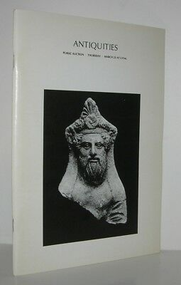 ANTIQUITIES Egyptian, Western Asiatic, Islamic - Parke-Bernet - First Edition