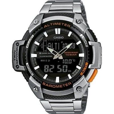 Casio Collection – Men's Analogue/Digital Watch with Stainless Steel Bracelet