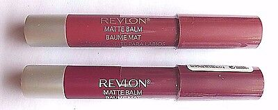 Revlon Colorburst & Matte Lip Balms, Assorted Shades, New