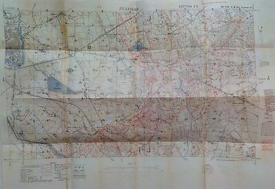 New WW1 Trench Map HELLFIRE CORNER Zillebeke Polygon Wood Menin Rd Hooge 1917