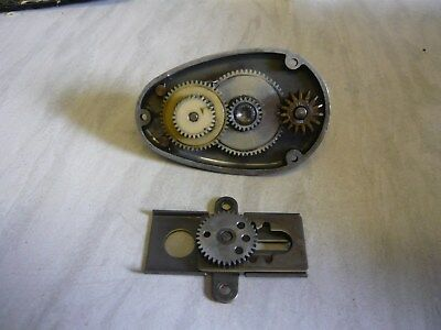 Vintage Mitchell Parts - Half Bail - Cover Plate & Nylon Gear Set & Slider Parts