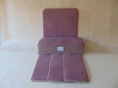Carpet Stair/ pads / treads 60cm x 23cm 14 off and Runner and Mats 2608