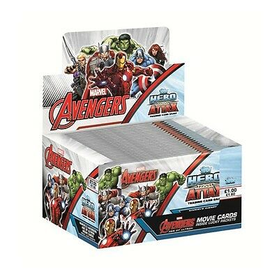 Marvel Avengers Tops Hero Attax Age Of Ultron Trading Cards 24 Pack ( 192 Cards)