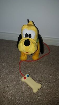 childrens toy walking pluto dog remote sounds