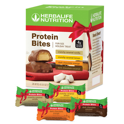 NEW HERBALIFE Limited Edition Protein Bites Variety Pack FREE SHIPPING