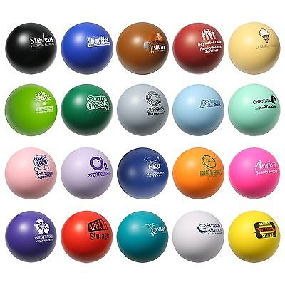 150 Personalized Round Stress Balls Printed with Your Logo or Message