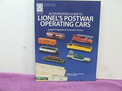 Lionel's Postwar Operating Cars Book