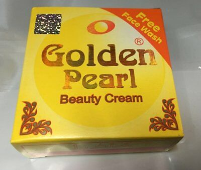 1x PEARL GOLDEN BEAUTY CREAM 100% Original Pimples Removing 30g + Free Face Wash