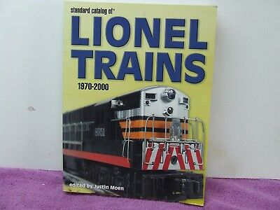 Lionel Trains 1970-2000 (Justin Moen) Book