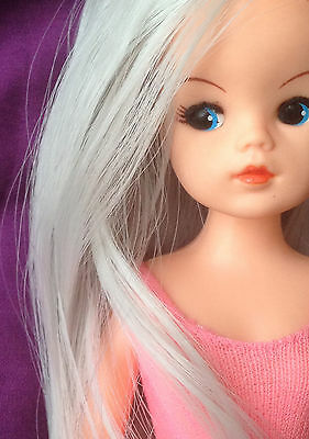 premium synthetic hair for DOLL RE-ROOTING ~Sindy & other Vintage & modern Dolls