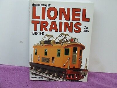 Lionel Trains 1900-1942 (David Doyle) Book