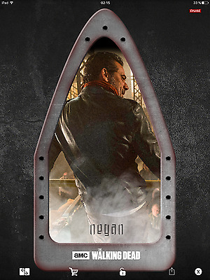 Topps the walking dead Sanctuary full set with awards