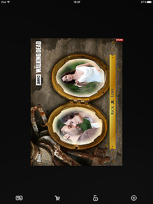 Topps the walking dead Marathon smitten full set with awards